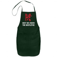 Christmas Mistletoe Apron