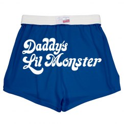 Daddy's Lil Monster Costume Shorts