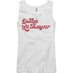 Daddy's Lil Monster Harley Tank