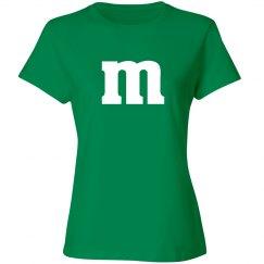 Halloween Green Candy Shirt Costume