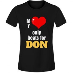 Heart beats for Don