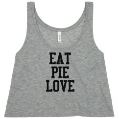 Eat Pie Love Crop - Mint