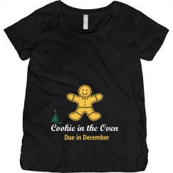 Cookie in Oven Maternity Top