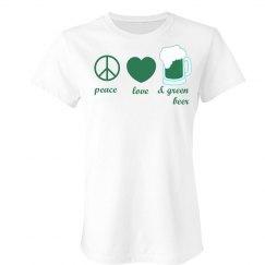 Peace, Love & Green Beer