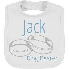 Ring Bearer Wedding Baby Bib