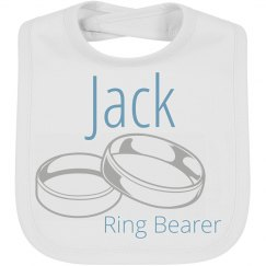 Ring Bearer Wedding Baby Bib