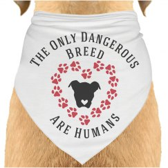 Dog Lovers Slogan Bandana