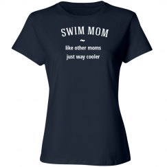 Swim mom way cooler