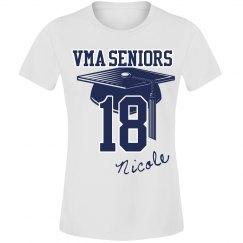Seniors 2017 ( Year Tee) Female Cut 2
