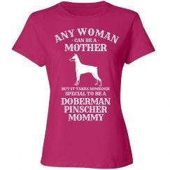 Doberman Pinscher Mommy