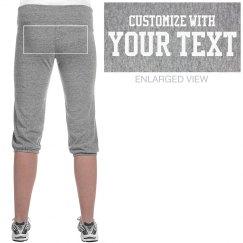 Customize Sweats For Gymnastics