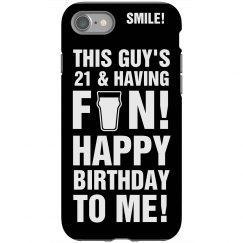 21st Birthday iPhone 4
