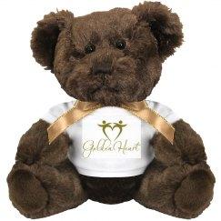 Golden Heart Custom Teddy Bear