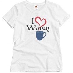 I Love Warm Mugs