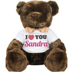 I love you Sandra!