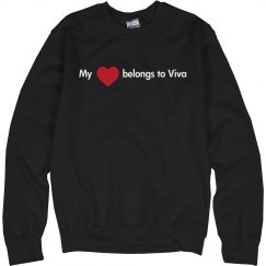 Heart belongs to Viva