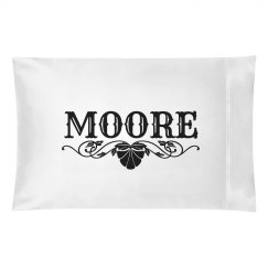 MOORE. Pillow case