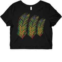Neon Palm Fronds