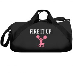 Fire it up cheerleader