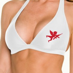Cupid Valentine Swimsuit Top