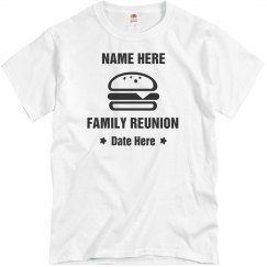 Burger Graphic Family Reunion