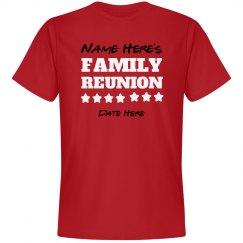 Custom Family Reunion Star Tee