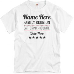 Simple Family Reunion Graphic