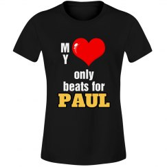 Heart beats for Paul