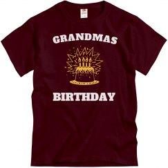 It's grandmas birthday