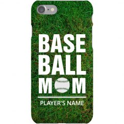 All Over Print Custom Baseball Mom