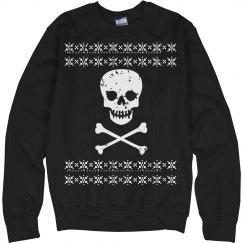 Skull Christmas Sweater