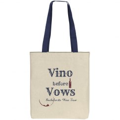 Vino Before Vows Bachelorette Wine Tour Tote