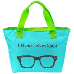 I Read Everything Bag