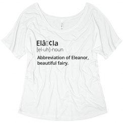 Ella Name Meaning Shirt