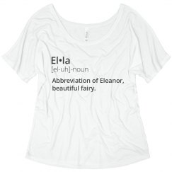Ella Name Meaning Shirt