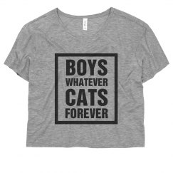 Boys Whatever Cats Forever