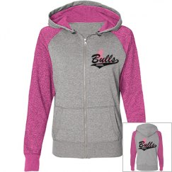 Pretty n Pink Bulls XXXL Hoodie