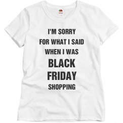 Black Friday Mean Girl