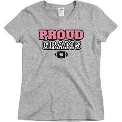 Proud Football Grandma