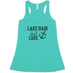 Lake Hair Don't Care - Tank