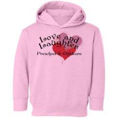 Pink toddler sweatshirt
