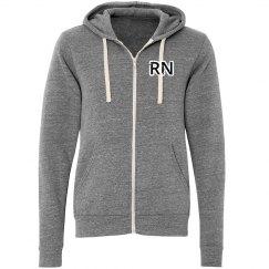 Mens RN Zip Up Sweatshirt