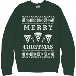 Merry Crustmas Pizza & Beer Green