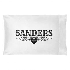 SANDERS. Pillow case