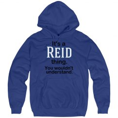 Its a Reid thing