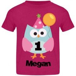 1st Birthday Owl