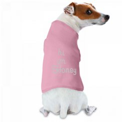 hi im name puppy or dog tank top