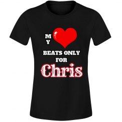 Heart beats for Chris