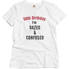 50, daze, confused