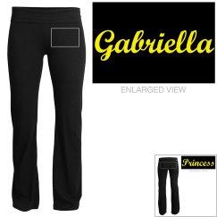 Gabriella, yoga pants